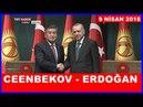 Cumhurbaşkanı Erdoğan İle Kızgızistan Cumhurbaşkanı Ceenbekov'un Ortak Basın Toplantısı 9.4.2018