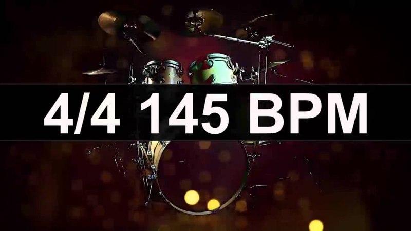 Drums Metronome 145 BPM