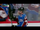 Колорадо - Даллас Гол Якупова Yakupov uses huge slap shot to score with less than a second left in period
