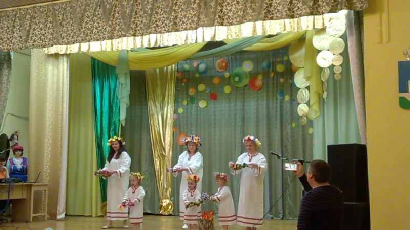 Танец На Ивана Купала Трифоновский детский сад