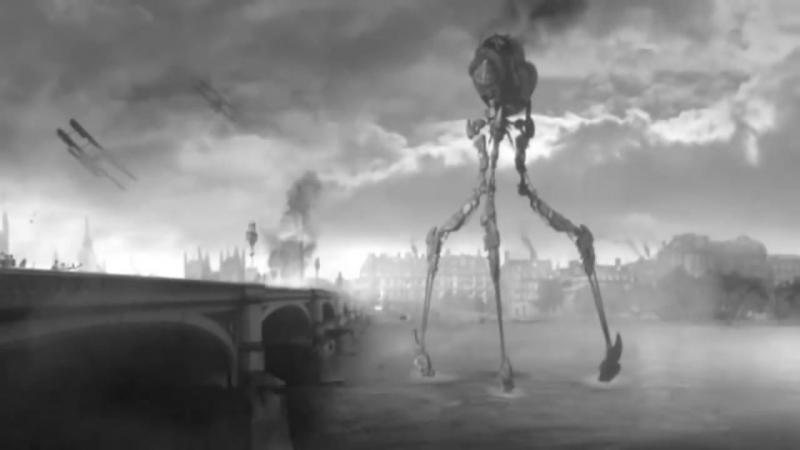 Война миров- вторжение инопланетян
