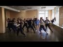 Dancehall intensive by Катерина Толстихина Part 1