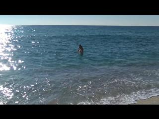 Акробатика в Средиземном море. Турция. Аланья. 8.12.2017