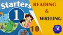 Starters Test Reading and Writing 10