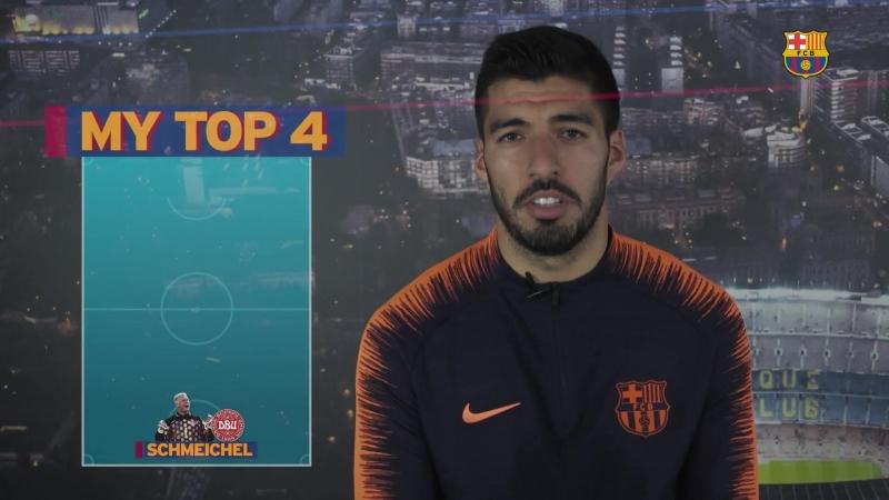 My Top 4: Luis Suárez