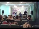 Валерий Калинин и Татьяна Лощенова. Масленица в ДМШ № 2
