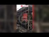 В Олимпийском парке Сочи сгорел павильон с сувенирами