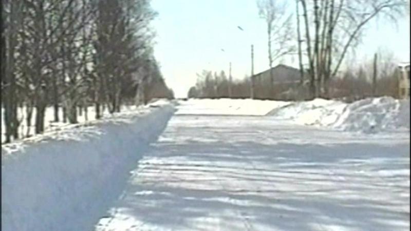 Зима в Часово. 09.03.2008