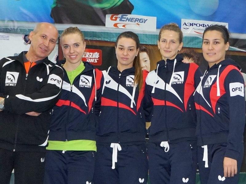Таганрогские теннисистки стартовали в свою силу