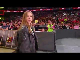 Презентация Ронды Роузи в качестве рестлера WWE