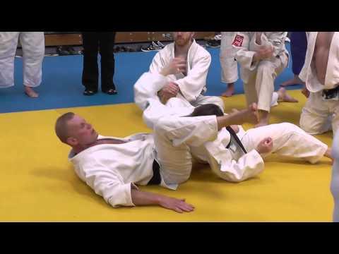 Judo Juji gatame part 2 Steve Gawthorpe Series 2