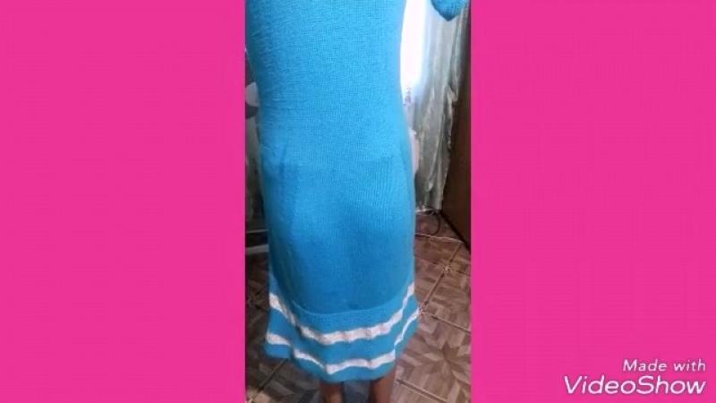 Обзор моего готового платья