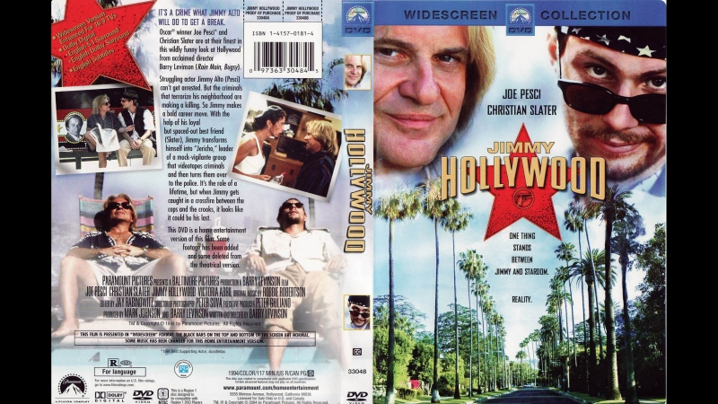 Джимми-Голливуд / Jimmy Hollywood. 1994. Перевод Сергей Визгунов (by alenavova) VHS
