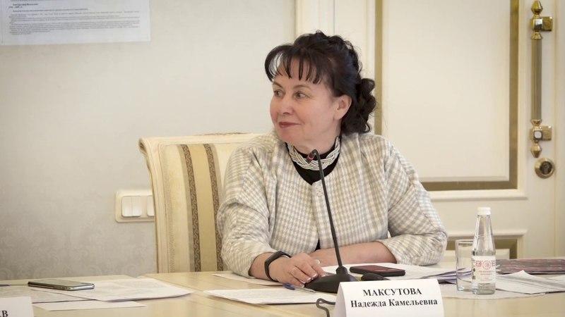 Заседание штаба по координации грантовых проектов РГО и Правительства области