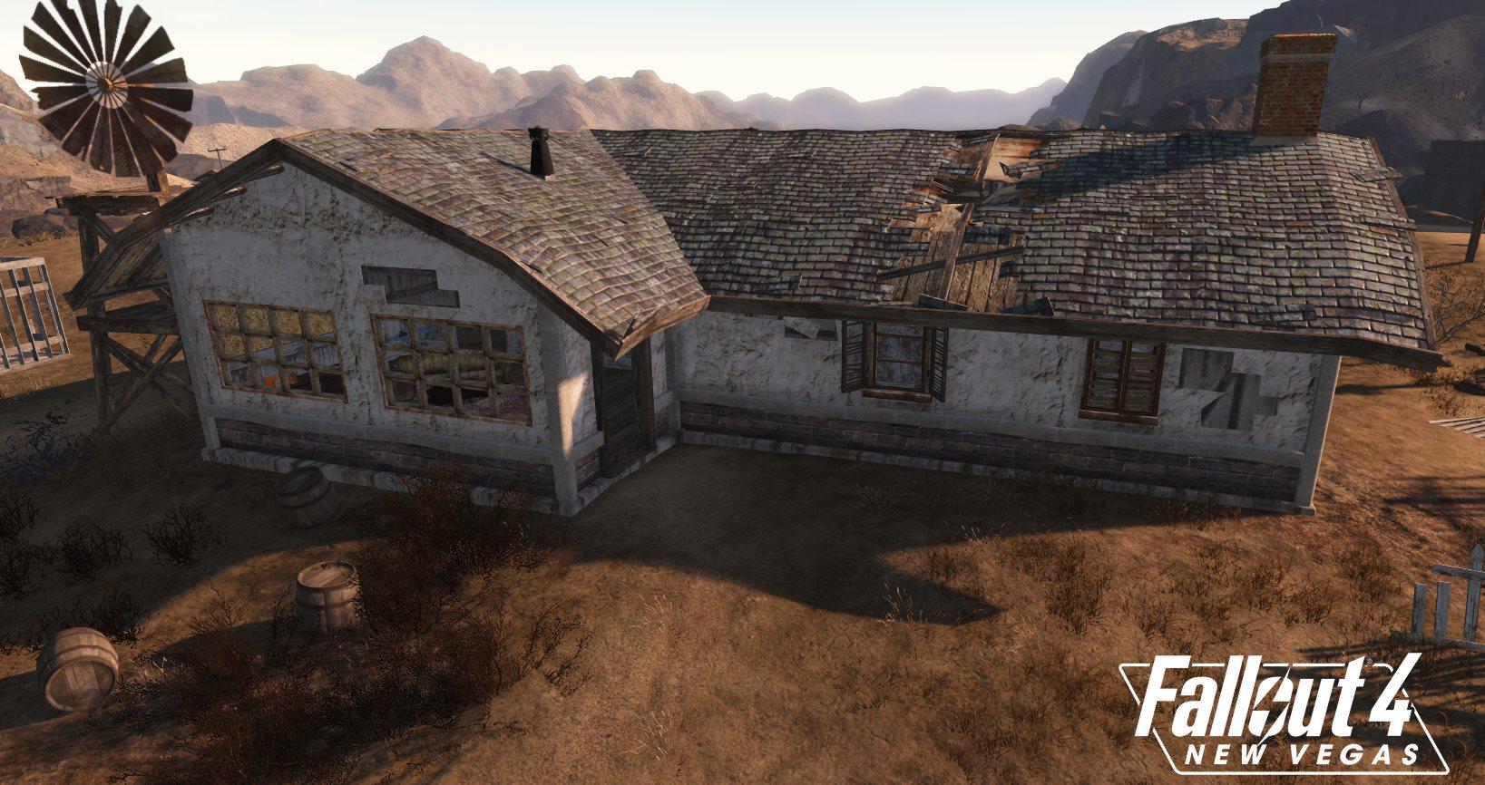 Разработчики Fallout 4: New Vegas продолжают работу над игрой, и на этот раз они рассказали о том что многие текстуры приходиться делать по новому: