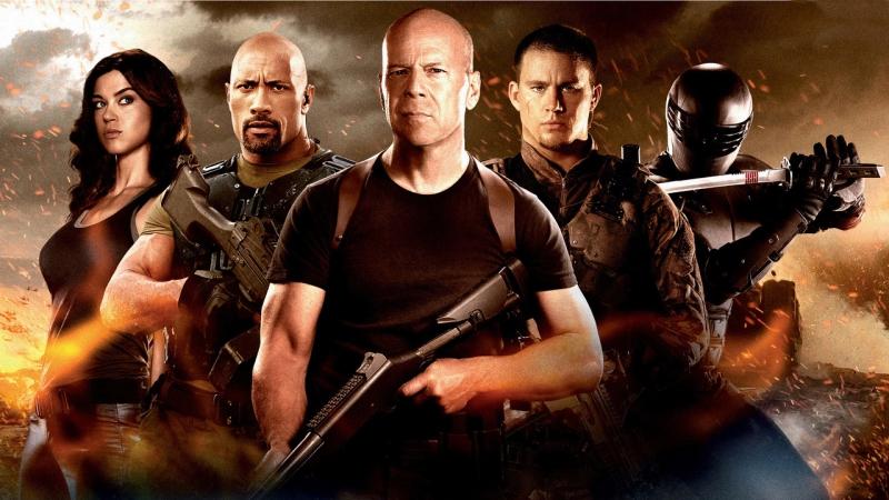 G.I. Joe: Бросок кобры 2 (2013) *** Cмотрим вместе