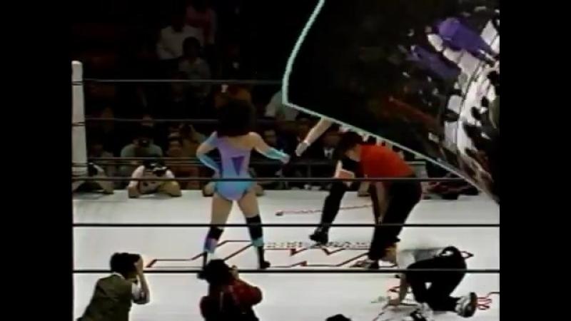 Dynamite Kansai vs. Plum Mariko (1992.4.11)