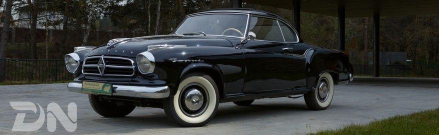 Тест-драйв и обзор Borgward Isabella 1957