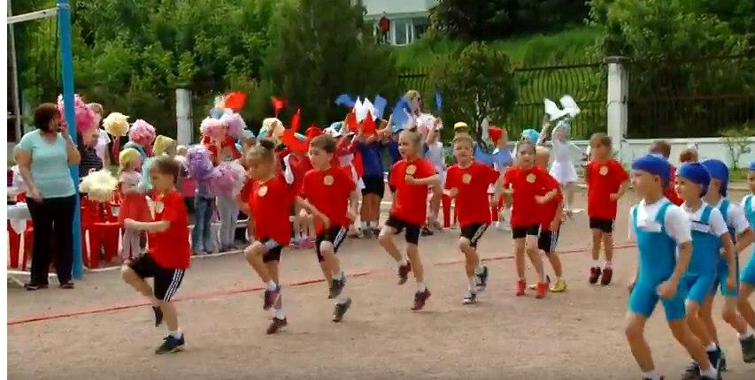 Соревнования детских садов