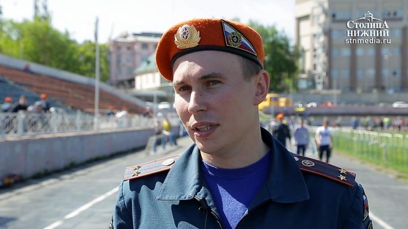 Илья Шаров: Надеемся, что школьники захотят работать в нижегородском пожарно-спасательном гарнизоне