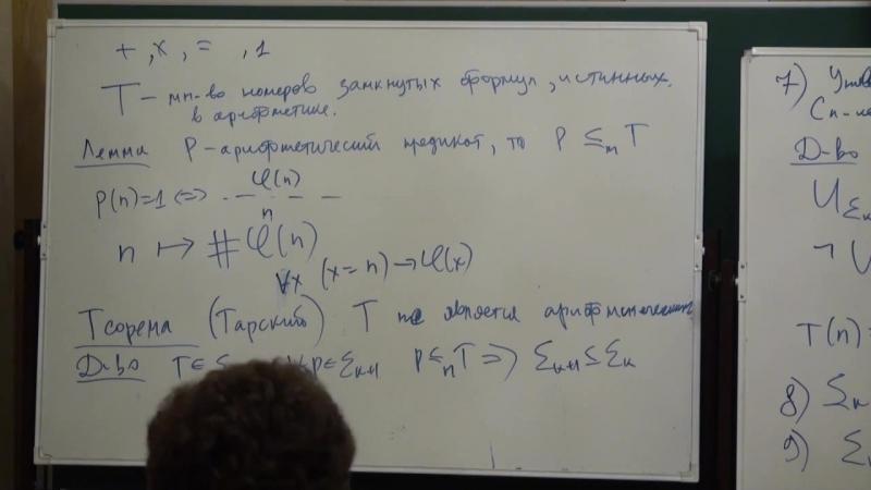 Лекция 5 - Основы вычислимости и теории сложности - Дмитрий Ицыксон - CSC - Лекториум