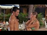 Элвис Пресли в бассейне с Урсулой Андерс.- Ursula Andress Fun in Acapulco Pool Scene