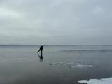 За пять минут до того, как упасть под лед