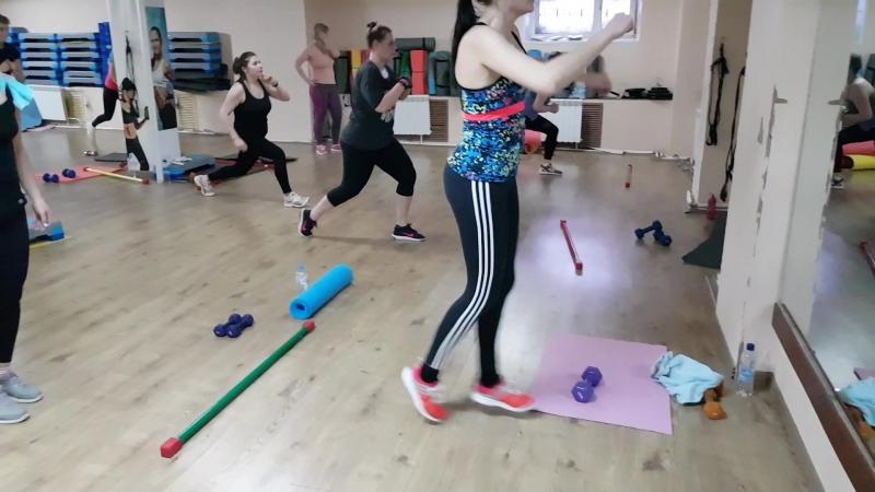 Интервальный тренинг ( ноги/ягодицы)🍑