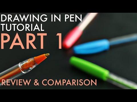 Ballpoint Pen Art What Pens Do I Use