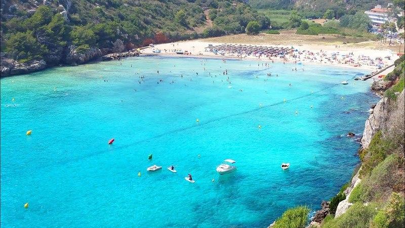 Пляж Кала ен Портер Менорка / Playa Cala en Porter Menorca