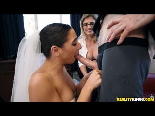 Cory Chase & Abella Danger (Mind Fuck Dicknosis)[2018, 3Some, Amateur, Glasses, Pussy Licking, POV, Facial, Anal, 1080p]