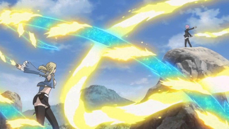 Fairy Tail AMV Move Like a Solider Lucy