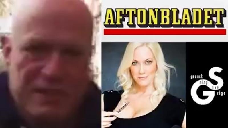 Robert Aschberg och afghan hotar ensam tjej
