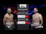 UFC 224 Markus Perez VS James Bochnovic