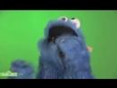 Cookie Monster eating cookie! Om nom nom