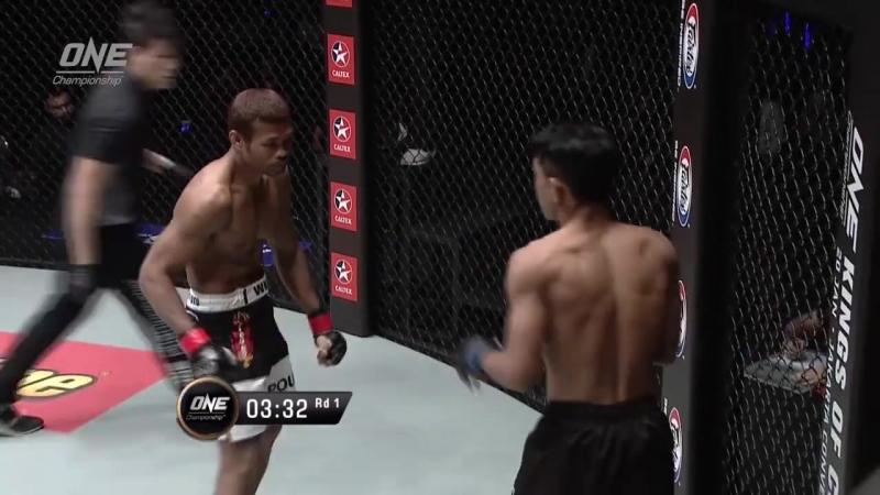 Yodsanan Sityodtong defeats Dodi Mardian, 1:32 into the first round.
