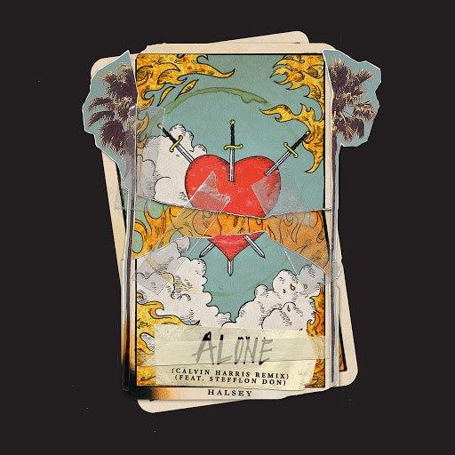 Halsey альбом Alone (Calvin Harris Remix)