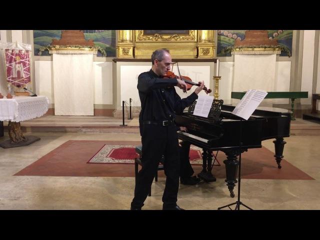 J. Raff - Tarantella op. 85 n. 6 per VL e Pf - Fabio Imbergamo, violino - Carlo Guerra, pianoforte