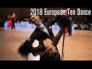 2018 European 10D The STD Final DanceSport Total