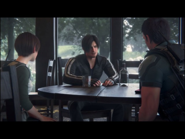 Resident Evil Vendetta 2017 Chris and Rebecca Brings Leon(The Real Expert) In Mission