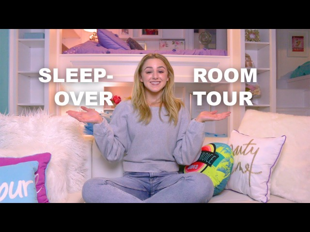 Sleepover Room Tour | Chloe Lukasiak