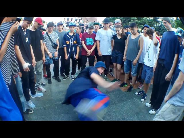 YSJ Footwork jam Battle: Fifty Vs Thomaz