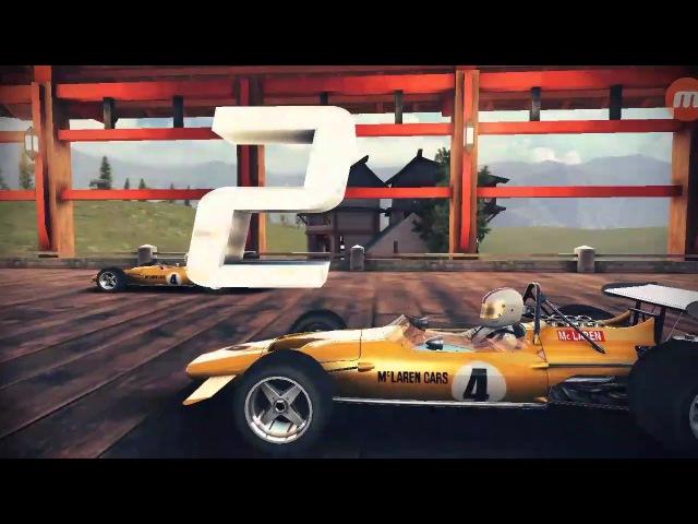 Asphalt 8, (1:00:126) McLaren M14A.