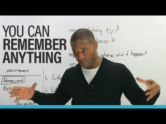 REMEMBER ANYTHINGwith the Memory Palace Method