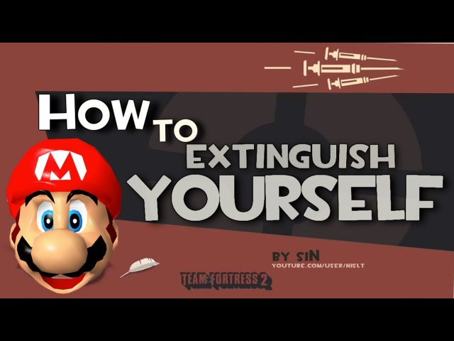 TF2: How to extinguish yourself