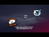 VGJ.Thunder vs Virtus.Pro ESL One Genting 2018, Group A, Upper Bracket, Round 2 Игра 1