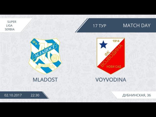 AFL17. Serbia. Super Liga. Day 17. Mladost - Voyvodina.