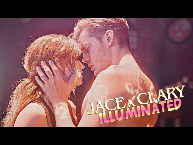 » illuminated (jace x clary; shadowhunters) [2x19]