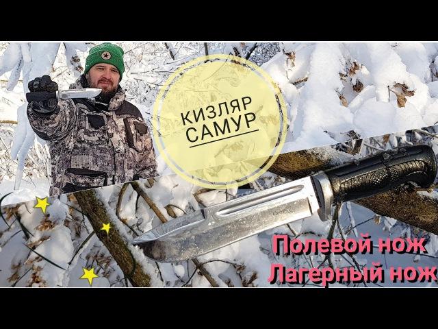 Обзор ножа Кизляр САМУР AUS-8 / Kizlyar Samur туристический нож - нож для похода / Forester