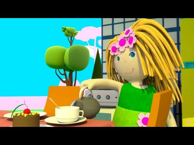 Кукольный домик Мультики для девочек На кухне у Бьянки